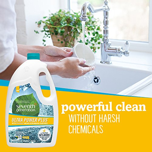 Seventh Generation Ultra Power Plus Auto Dish Gel, Fresh Citrus Scent, 65 Ounce by Seventh Generation (Image #4)