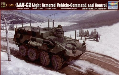 - Trumpeter 1/35 USMC LAV-C2 Light Armored Command and Control Vehicle