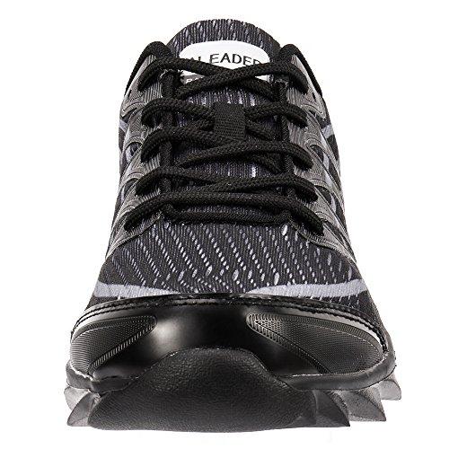Upgrade Walking New Womens ALEADER Sneakers Fashion Running Shoes Quality Black qZqzI