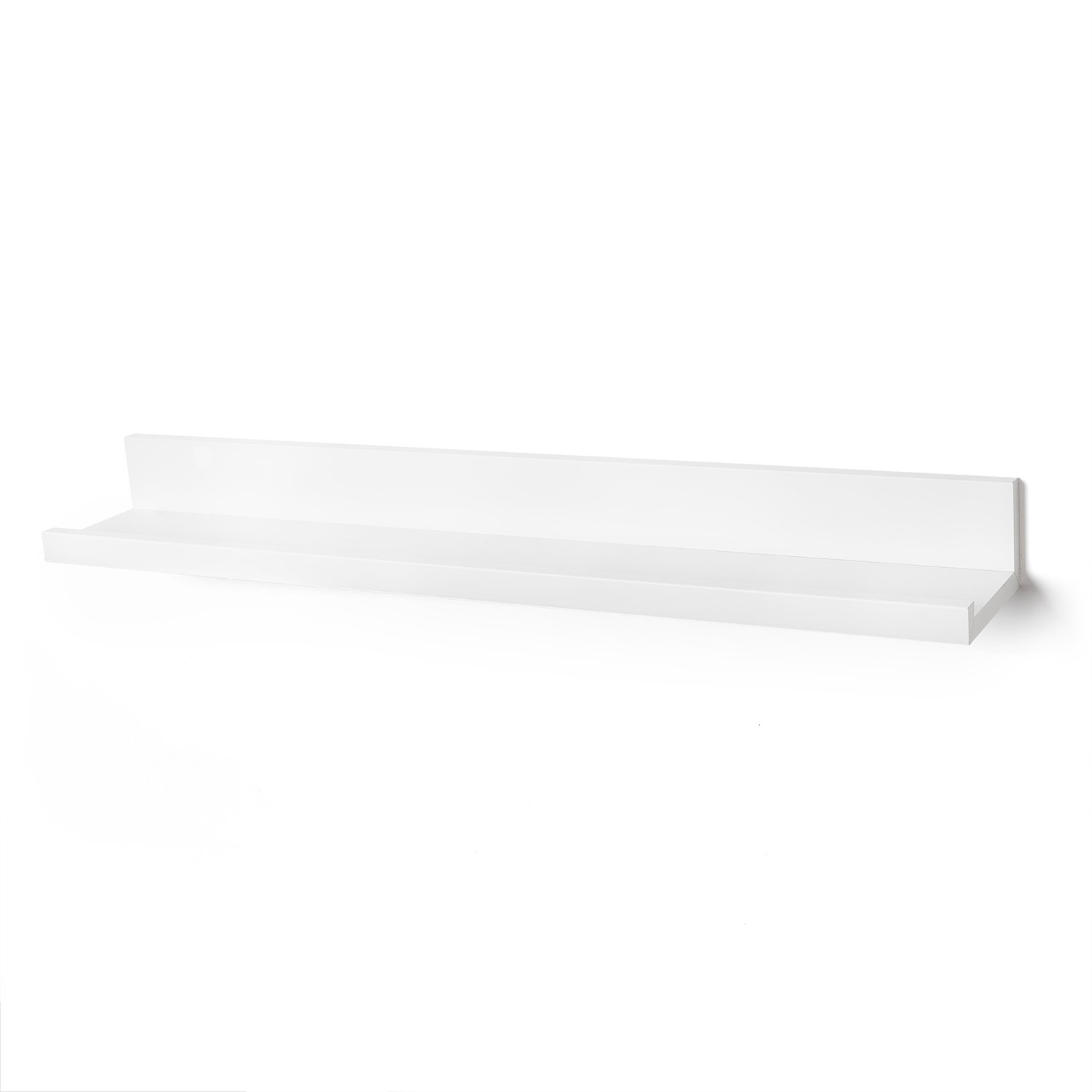 Americanflat White 36 Inch Floating Wall Shelf