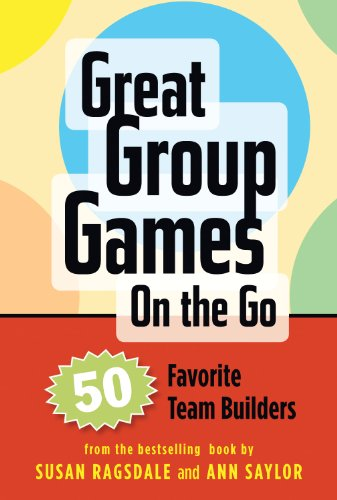 Search Institute Press Great Group Games Cards on the Go: 50 Favorite Team Builders