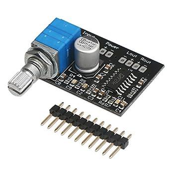 5 pieces Audio Amplifiers 3W Filter-Free Class D Power Amplifier