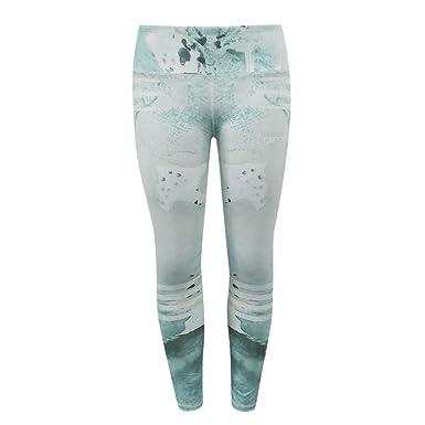Keepwin Mallas Deportivas Mujer Leggings Yoga Pantalon ...