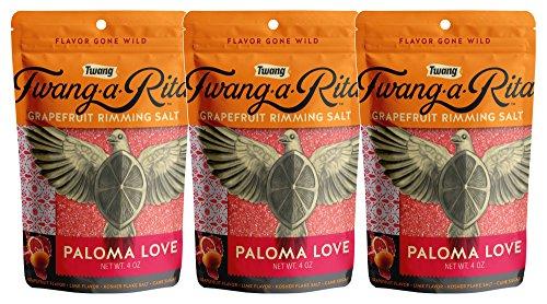Twang-A-Rita The Original Flavored Cocktail Rimming Salt (Paloma Love)