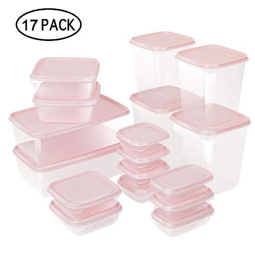 UMIWE 17 unidades de recipientes de plástico para ...