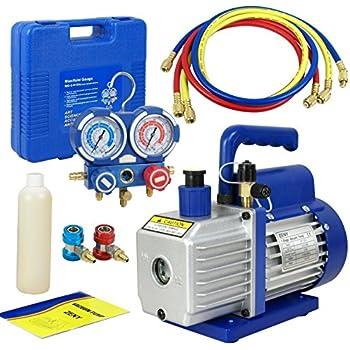 Amazon Com Xtremepowerus 3cfm Or 4cfm Air Vacuum Pump
