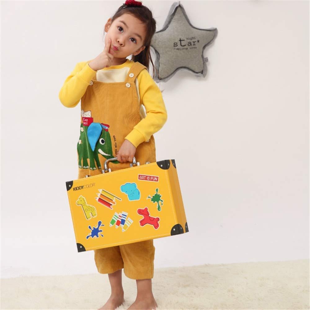 JIANGXIUQIN Artist Art Drawing Set, 159 Pieces of Art Supplies Painting Fun Children Super Surprise Gift, Joyful/Non-Toxic Gifts for Children and Children. (Color : Yellow) by JIANGXIUQIN (Image #4)