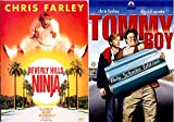 gun hill road - Chris Farley Tommy Boy Comedy Movie & Beverly Hills Ninja DVD Bundle Double Feature