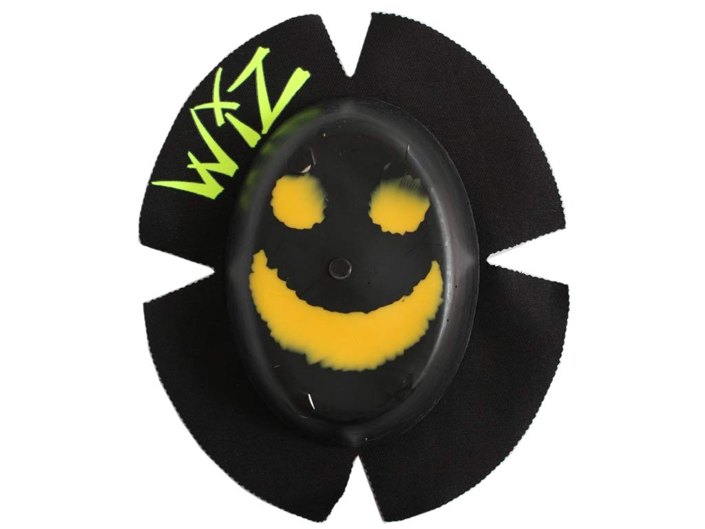 WIZ Racing Knieschleifer Sparky Smile schwarz-gelb