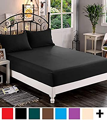 Elegant Comfort /™ Premium Hotel 1-Piece Luxury /& Softest 1500 Thread Count Egyptian Quality Bedding Fitted Sheet Deep Pocket up to 16inch Wrinkle and Fade Resistant Twin//Twin XL White