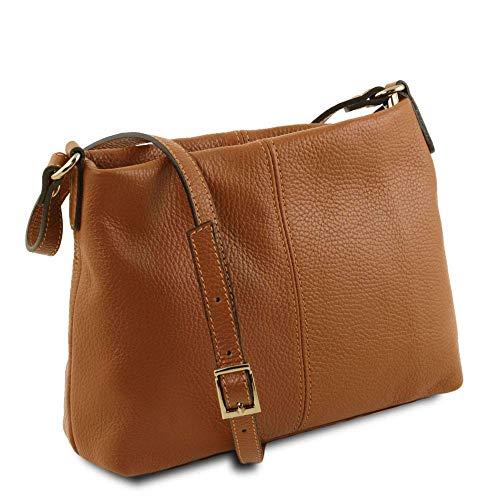 Compact Tl141720 Tuscany Marrone Spalla Donna Borsa Leather A f0qwg0px