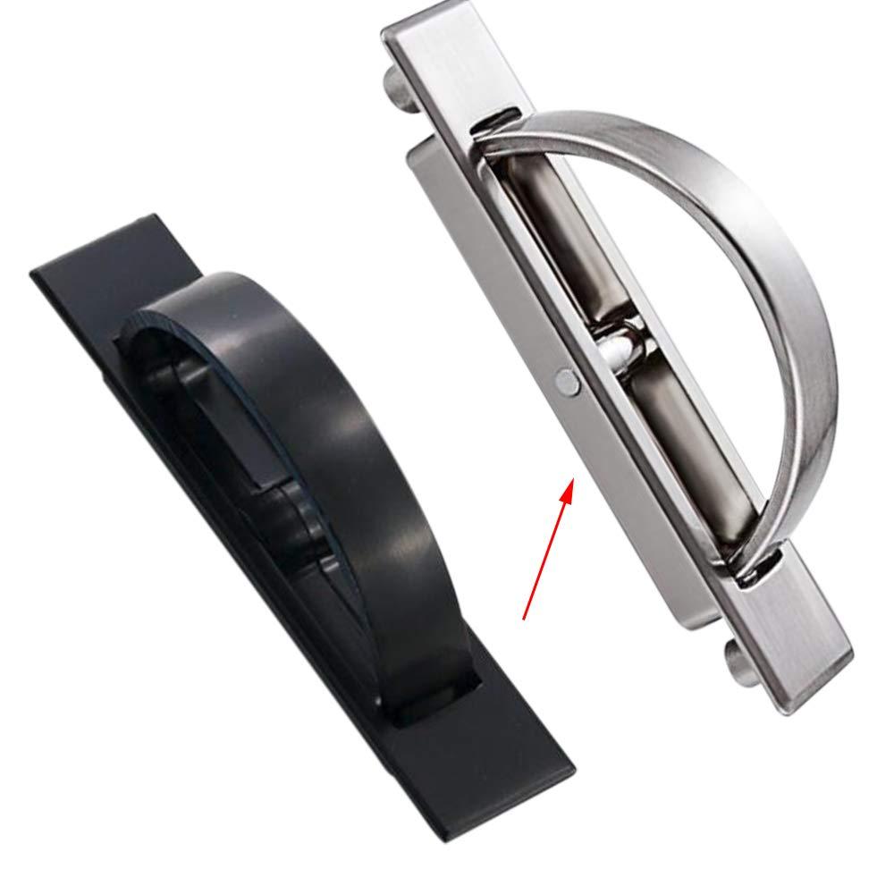 Amazon.com: 2 tiradores de cajón de aleación de zinc con ...