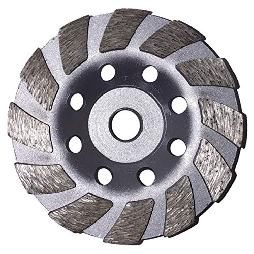 """4"""" Concrete Turbo Diamond Grinding Cup Wheel for Angle Grinder 5/8"""