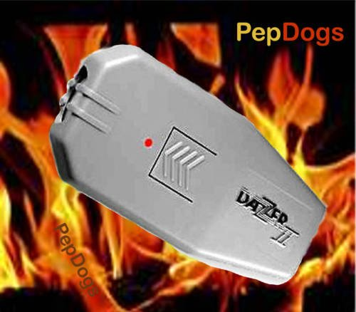 DAZER II Ultrasonic Aggressive Dog Deterrent Repeller DAZZER (Mole Shaver)