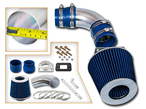 Filter 01-09 Compatible with Chrysler PT Cruiser All Model with 2.4L Non-Turbo 4-cyl ST Racing Blue Short Ram Air Intake Kit