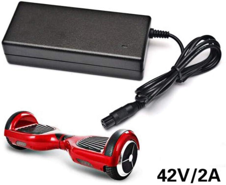 SHDT 42V 2A Universal-Ladeger/äte F/ür Hoverboards Durable Elektro-Balancing Scooter Zubeh/ör Adapter Ladeger/ät US-Stecker,A,36V 1.1A