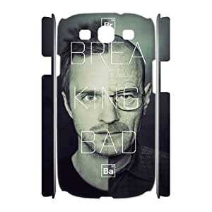 wugdiy DIY Protective Snap-on Hard Back 3D Case Cover for Samsung Galaxy S3 I9300 with Breaking Bad