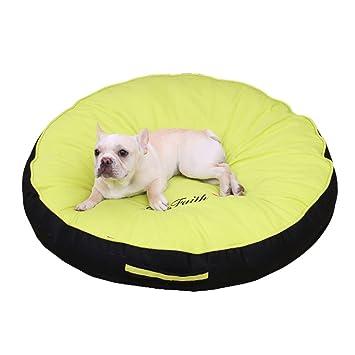 Xi Man Shop para Perros Algodón sin Electricidad estática Cama para Perros Cama para Mascotas (Color : B Green, Size : 100CM): Amazon.es: Hogar