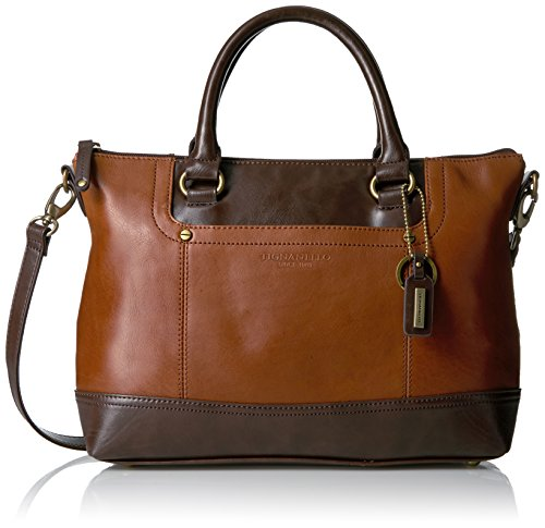 Tignanello Smooth Operator Satchel, Rust/dark Brown