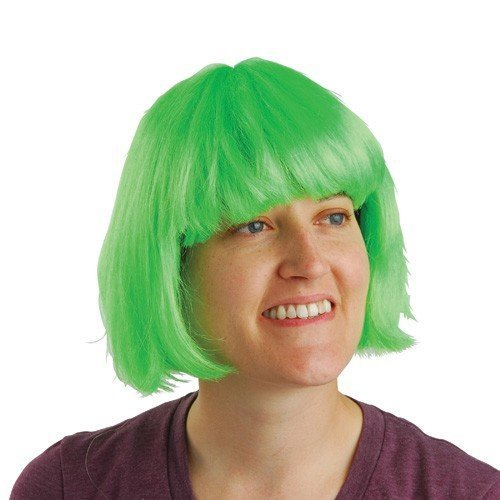 [US Toy - Mod Wig/Green, 1/Package] (Short Green Wig)