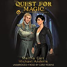 Quest for Magic: The Leira Chronicles Book 0 Audiobook by Martha Carr, Michael Anderle Narrated by Carly Robins