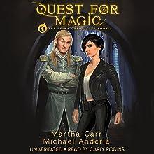Quest for Magic: The Leira Chronicles Book 0 | Livre audio Auteur(s) : Martha Carr, Michael Anderle Narrateur(s) : Carly Robins