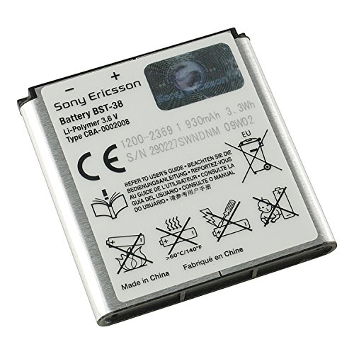 Battery Sony Ericsson BST 38 For the Jalou / C510 / C902i...