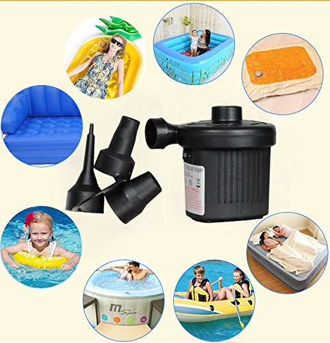 Wing Ying Electric Air Pump 110V AC Quick-Fill Pump for Inflatables Air Mattress Toy Inflatable Pool Swimming Ring Raft Boat Bed by Wing Ying (Image #6)