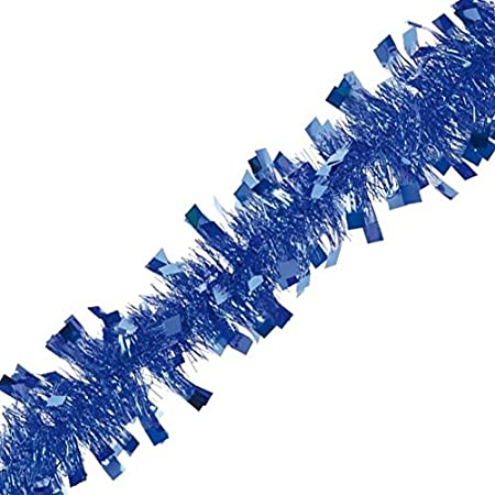 Autour de Minuit 5GUS146BF Boa Guirlande PVC Bleu Roi 2 m//Diam/ètre 15 cm