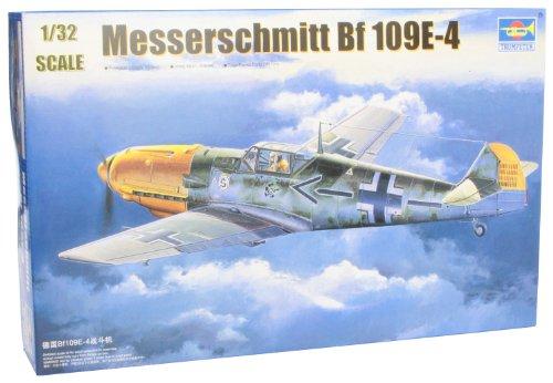 - Trumpeter 1/32 Messerschmitt Bf109E4 German Fighter Model Kit