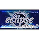 Eclipse Sugarfree Mints 1.2 Ounce Tins (Pack of 8) (Peppermint Mint)