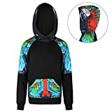Tribal Color Parrot Logo Youth Fashion Hooded Sweatshirt It Is Everyday Bro