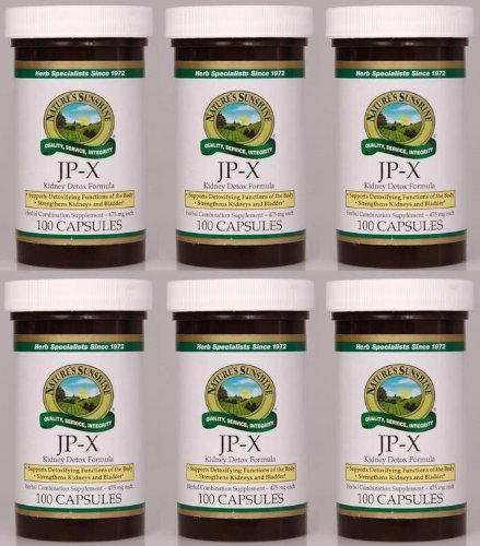 Naturessunshine JP X Supports Digestive System Herbal Combination Supplement 100 Capsules (Pack of 6) by Nature's Sunshine