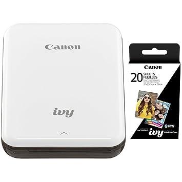 Canon IVY Mini - Impresora fotográfica móvil con Canon (2 x 3, 20 ...