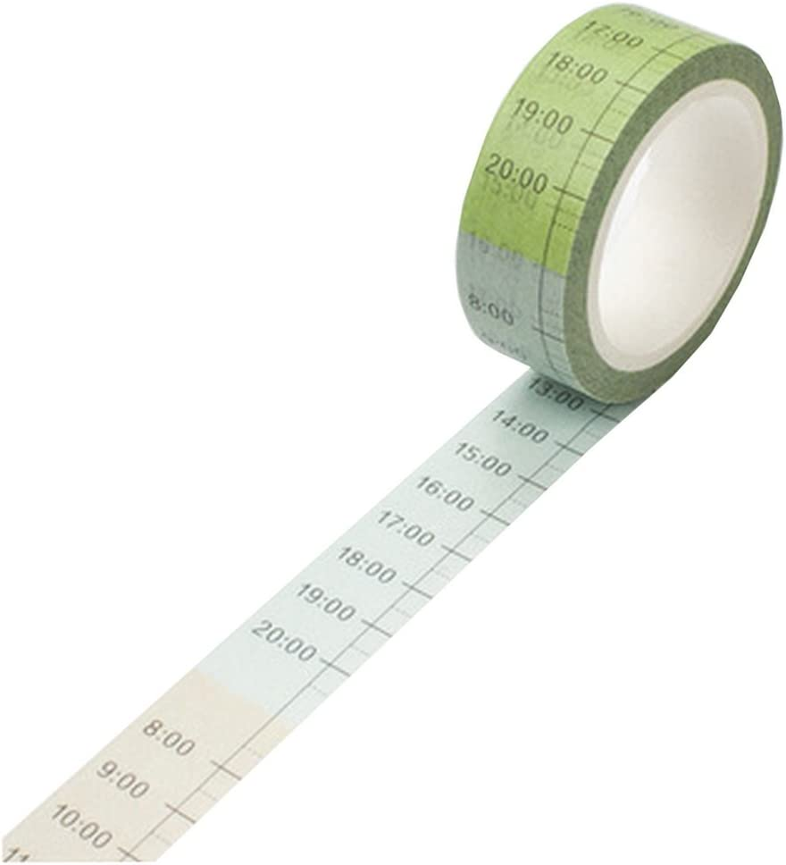 Date /& Days Washi Tape  Watercolor Masking Tape  Scrapbooking  Decoration  Planner Stickers  Bullet Journal  Craft Supplies  DIY