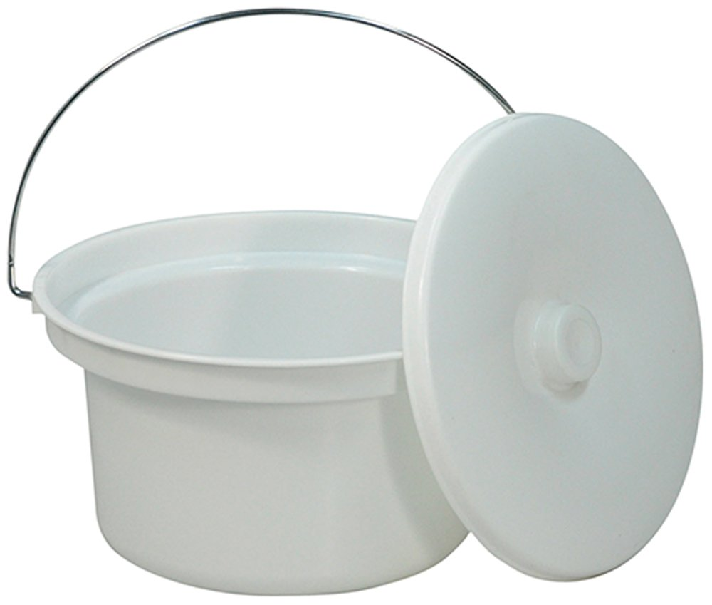 5L Commode Bucket and Lid Aidapt VS216