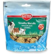 Kaytee Timothy Biscuits Baked Treat -- Apple 4 oz