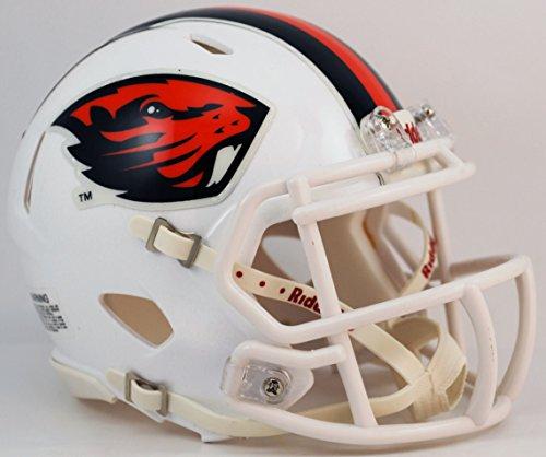 State Beavers Oregon Helmet Mini (OREGON STATE BEAVERS NCAA Riddell Revolution SPEED Mini Football Helmet (WHITE))