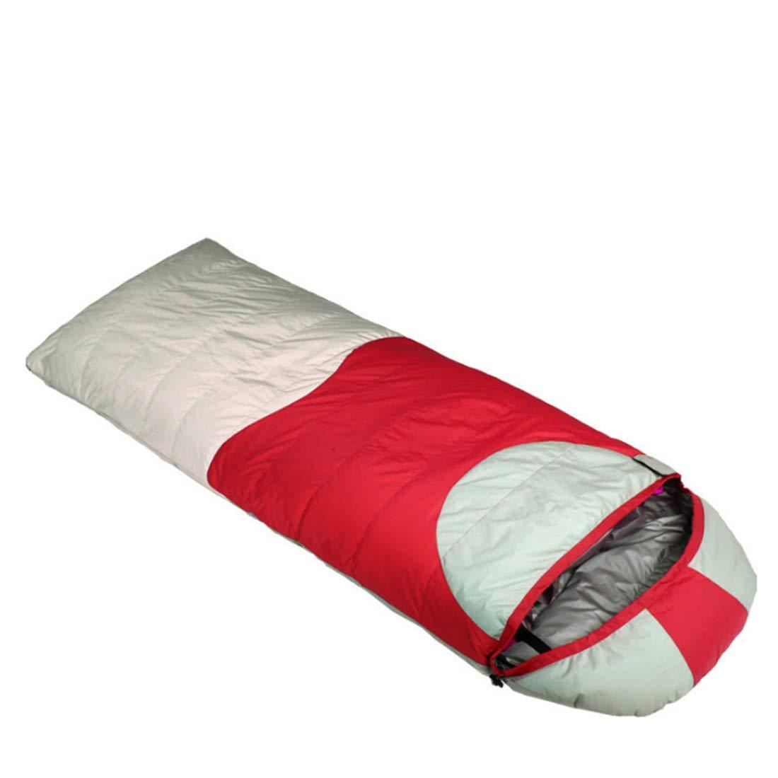 Ploekgda Envelope Adult Schlafsack ideal für Camping, Reisen, Wandern (Farbe   rot)