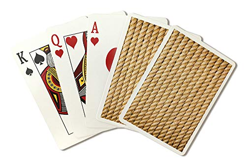 Weathered Rope Photography A-91192 (Playing Card Deck - 52 Card Poker Size with Jokers)
