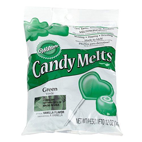 2 x Wilton 12 oz (340g) DARK GREEN Candy Melts For Cake Pops Sweets Decoration