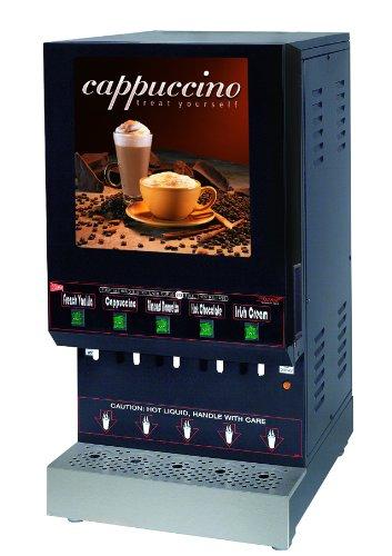 Grindmaster-Cecilware GB5M210-LD-U 5-Flavor Hot Powder Beverage Dispenser, ()