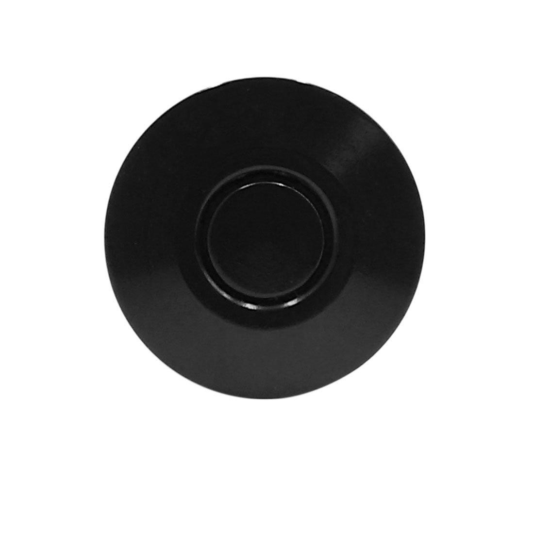 sourcing map Pulsador Pasadores del Cap/ó Traba Pestillo Cierre R/ápido para Coche Aluminio Negro