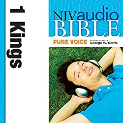 NIV Audio Bible, Pure Voice: 1 Kings
