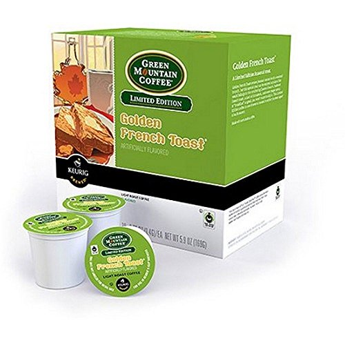 New Green Mountain Limited Edition Golden French Toast Co...