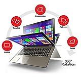 Toshiba Flagship 2-in-1 Convertible Tablet UltraBook 15.6' Touchscreen...