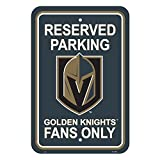 NHL Vegas Golden Knights Plastic Parking