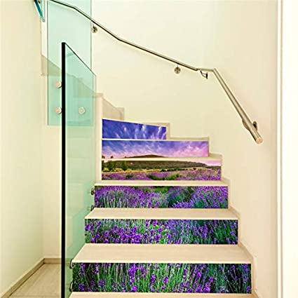 HYXLN Nouveau Creative Auto-Adhésif Escaliers Autocollants ...