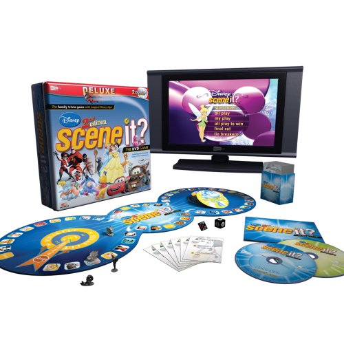 Scene It? Deluxe Disney 2nd Edition by Scene It