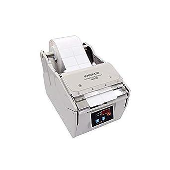 Dispensador automático de etiquetas X-100, KNOKOO Juego de máquina de etiquetado adhesivo de